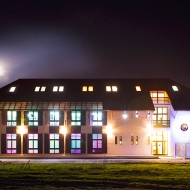 Fotografie arhitecturala de noapte in Cluj